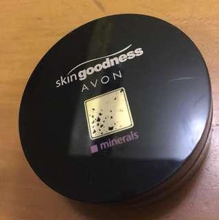 AVON minerals Skin Goodness