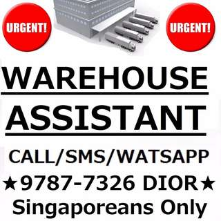Warehouse Assist (School Leavers welcome / No Exp required)