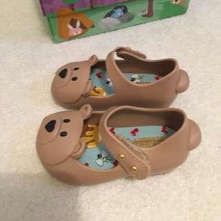 New: Mini Melissa Bear shoes