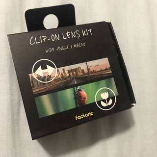 Clip-On Lens Kit