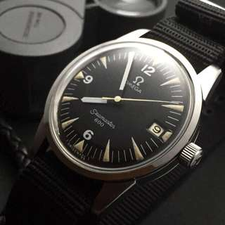 FOR SALE-   35mm Omega Seamaster 600