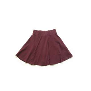SALE! Pull & Bear Maroon Skirt