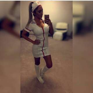 Nurse Costume XS Size 6 To 8