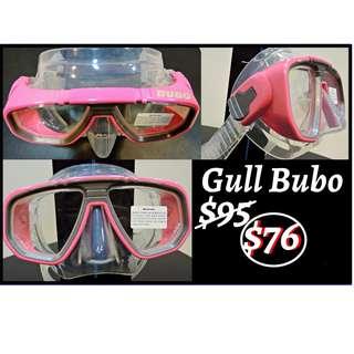 Gul Bubo Scuba diving mask