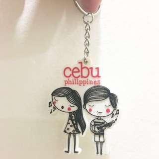 Cebu City Philippine Keychain