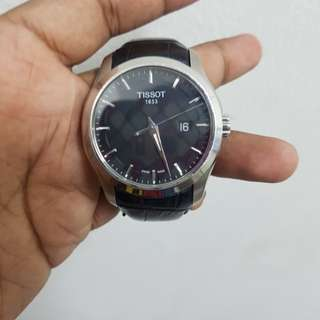TISSOT COUTURIER- Black Leather