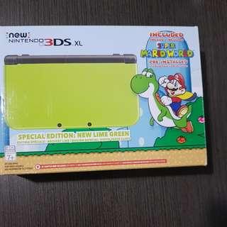 New version Nintendo 3ds XL
