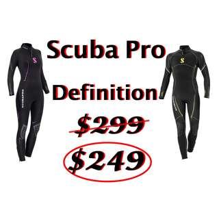 Scuba Pro Definition Steamer Wet Suit