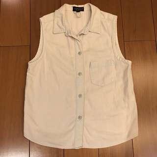 NEW, Moving Sale - Topshop Light Blue Jeans Outer Vest