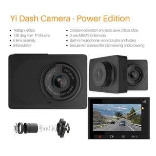 Yi Dash Camera 1080P  G-sensor Wifi connection
