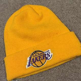 Authentic LA Lakers Beanie