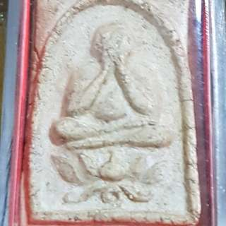 LP NAK Phra Pidta sitting on Lotus from Wat Rakang 2495