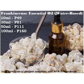Frankincense Essential Oil (Water-based) for Air Humidifier / Diffuser & Others
