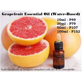 Grapefruit Essential Oil (Water-based) for Air Humidifier / Diffuser & Others