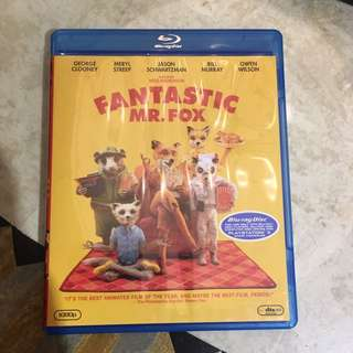 Fantastic Mr Fox Blu Ray Movies