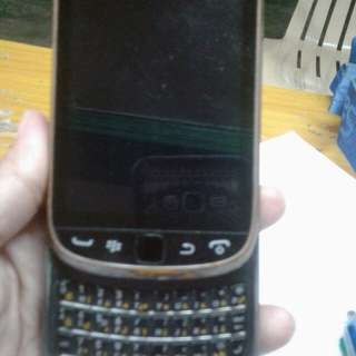 Black berry touch and type