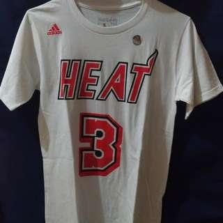 NBA Dwyane Wade 公牛 M號 短T T恤 全新未拆 絕對正品