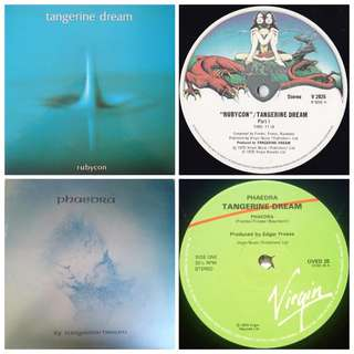 Tangerine dream classics vinyl record 2 titles