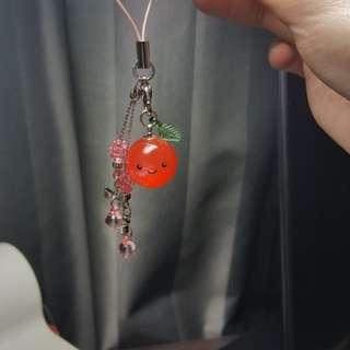 Tomato cute key chain (Brand New)