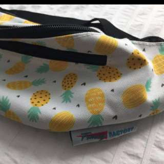 NEW pineapple print Fanny pack