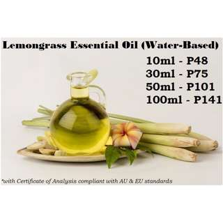 Lemongrass Essential Oil (Water-based) for Air Humidifier / Diffuser & Others