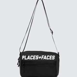 (LAST PIECE) Places + Faces Pouch Bag