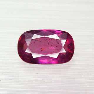 1.55ct Unheated Natural Pink Ruby