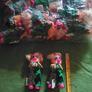 Miniature Clowns Size 4""