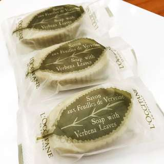 [New] 3-Piece Loccitane Verbena Soap