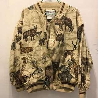 Vintage 古著 秋季棒球夾克 外套