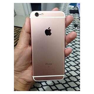 Iphone 6s 64GB Rosegold Factory Locked (Globe)