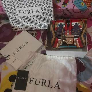Furla limited edition authentic