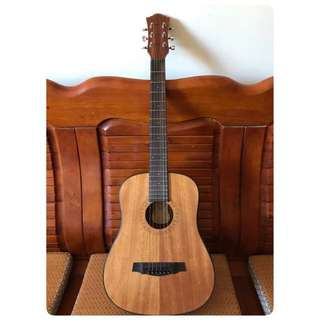 旅行吉他 合板 可議