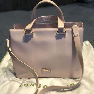 Long champ bag pink
