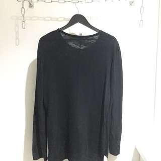 H&M Long Fine-knit Jumper