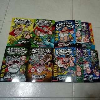 Captain underpants books