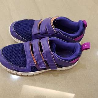 Adidas purple shoes