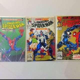 Amazing Spider-Man #373, 374 & 375 Marvel Comics
