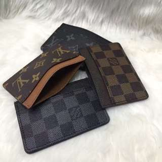 Louis Vuitton and Gucci Wallet