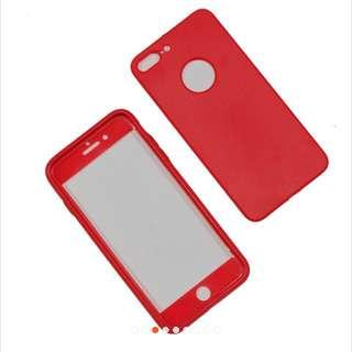 Case 360 iPhone 7 plus softcase