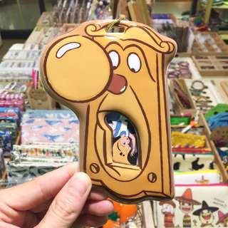 :::OH YEAH!:::『現貨』日本🇯🇵帶回迪士尼Disney愛麗絲門把先生識別證套-附贈卡貼 票卡夾 交換禮物