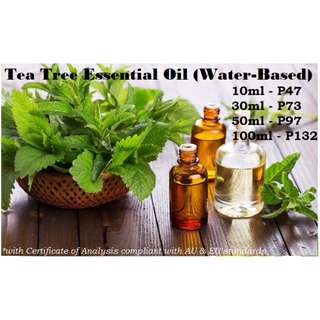 Tea Tree Essential Oil (Water-based) for Air Humidifier / Diffuser & Others