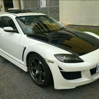 2007 Mazda RX-8 manual upgraded spec