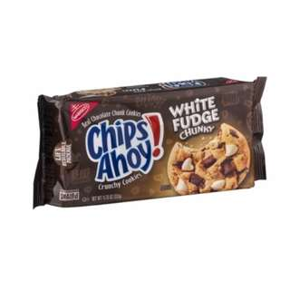 Chips Ahoy White Fudge 11.75oz