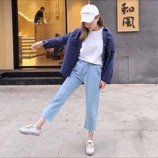 淺色牛仔褲#手滑買太多