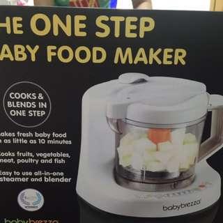 美國baby Brezza副食品自動調理機