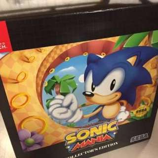Nintendo Switch Sonic Collector's Edition