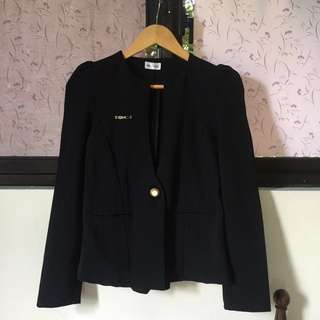 REPRICED! Black coat