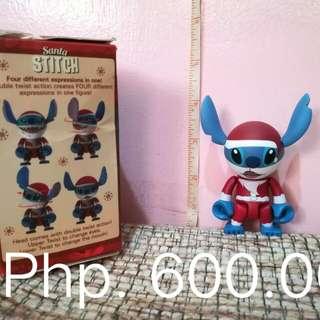 Stitch Christmas Figure