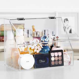 Brand New large Beauty Makeup Organiser with lid